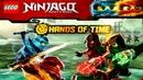 Ninjago WU CRU ОБНОВЛЕНИЕ игры Ниндзяго Руки времени 8 Серия Игра о Мультик Лего Ниндзя ВУ КРУ Gamep
