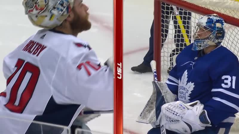 Holtby and Andersen trade saves in remarkable sequence