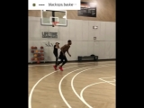 Cleanthony Early post workout conditioning