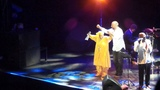 Halit Ergenc and Omara Portuondo singing Candela dancing together