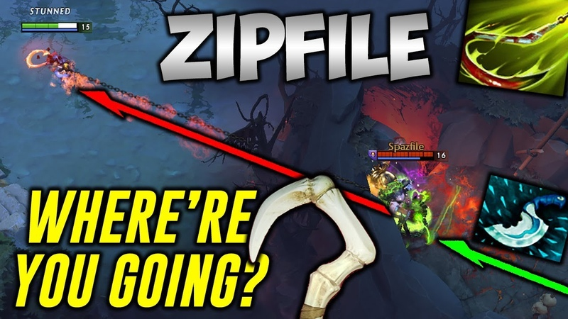 ZIP FILE PUDGE [Where are you going bro?!] Dota 2