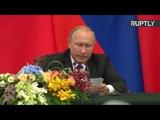 Владимир Путин и Си Цзиньпин подводят итоги переговоров в Пекине — LIVE
