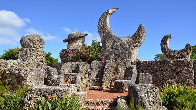 Nasıl Yapıldığı Anlaşılamayan Kale - Coral Castle