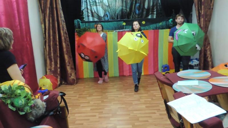 Репетиция интерактива Открытая сцена