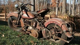 What a Sound - Old Motorcycles Starting Up - Indian, Henderson, Harley Starting Exhaust Sound