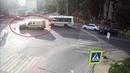 ДТП в Серпухове. Слепой инкассатор... (видео со звуком). 11 июля 2018г.