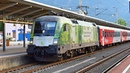 ÖBB 1016 023 GREEN POINTS ● Wörgl Hbf