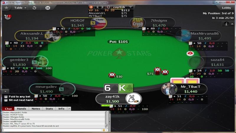 Играем в онлайн-покер, говорим о смысле жизни