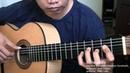 Somewhere - L. Bernstein/S. Sondheim (arr. Jose Valdez) Solo Classical Guitar