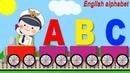 Английский Алфавит для Детей. Учим Английский вместе с Капитаном Поезда. Видео Для Детей
