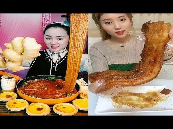 Chinese Food-eating show-搞笑美女吃播-大胃王吃各种重口味食物-用全部生命去吃- 变态吃货 -