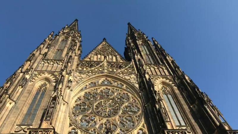 Кафедральный собор святого Вита. Пражский град.