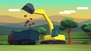 Dig In An Excavator Game