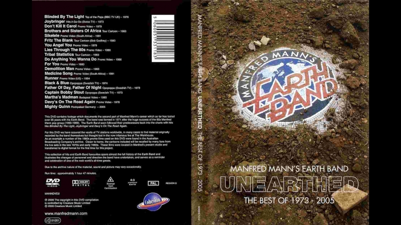 Manfred Mann's Earth Band ~ Unearthed The Best Of 1973-2005