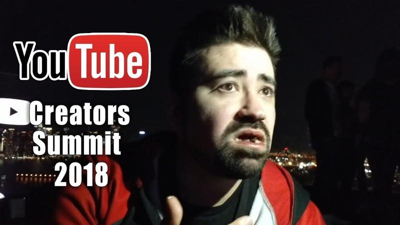 AngryJoe @Youtube Creators Summit 2018 Vlog!