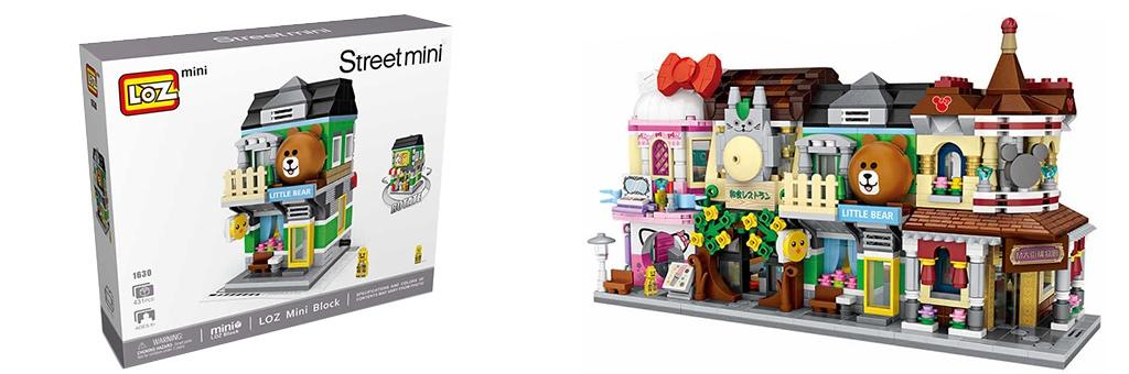 """Конструктор LOZ Street Mini """"Little bear"""" 1630"""