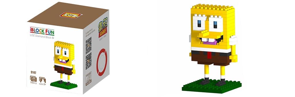 "Конструктор LOZ Diamond Block iBlock Fun ""Губка Боб"" 9147"