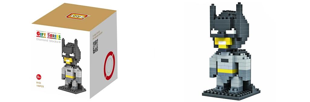 """Конструктор LOZ Diamond Block Gift Series """"Бэтмен"""" 9153"""