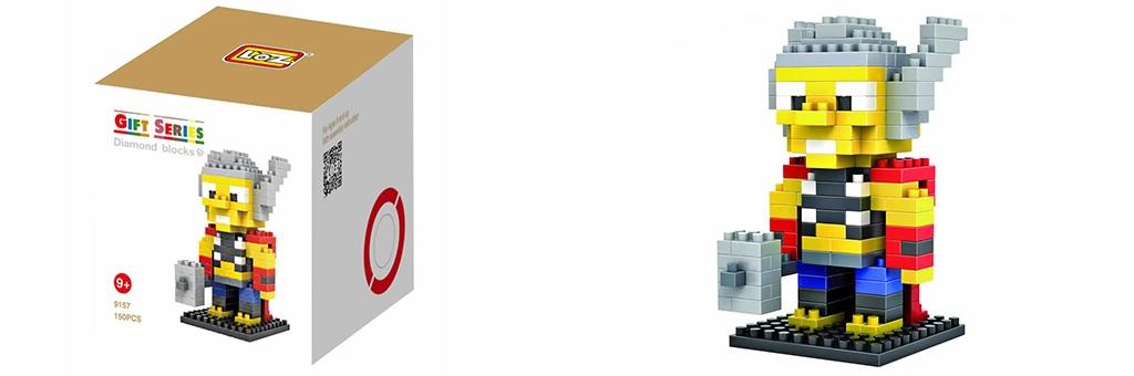 "Конструктор LOZ Diamond Block Gift Series ""Тор"" 9157"