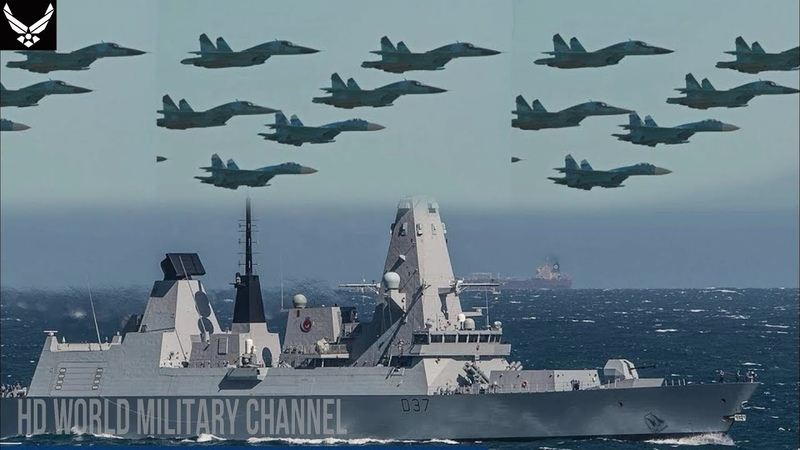 Incridible: Royal Navy HMS Duncan faced 'brazen hostility' swarmed by 17 Russian fighter jets