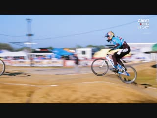 Kittie Weston-Knauer loves a challenge, so best not get in her way. At 70 years old, she's the oldest female BMX racer in the U.