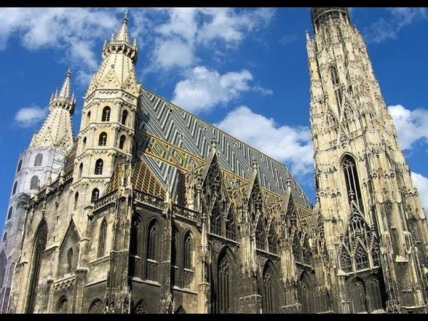Собор Св. Стефана Вена Австрия / St. Stephen's Cathedral Vienna Austria 4K Ultra HD