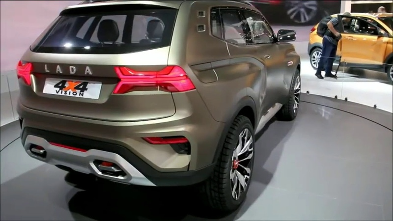 АвтоВАЗ показал концепт нового внедорожника Lada 4х4 Vision