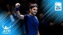 Роджер Федерер Лучшие моменты на финальных турнирах ATP