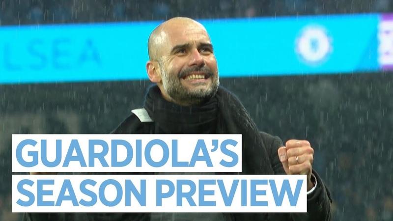 PEP GUARDIOLA'S SEASON PREVIEW | Premier League 2018/19