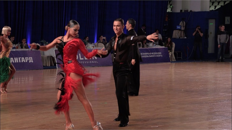 Dmitry Kulebakin - Daria Sviridenko RUS, Samba | WDSF International Open Latin