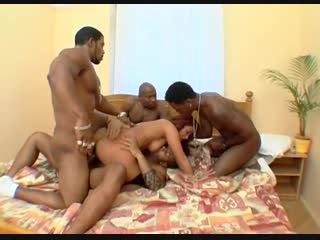 (b.a.w. (big ass women) 18+ vk.com/big_a ss_women) jenna red interracial gangbang