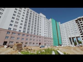 Видеоотчет о ходе строительства от 21 июня 2018 г. в ЖК Москва Град  в Нижнем Новгороде