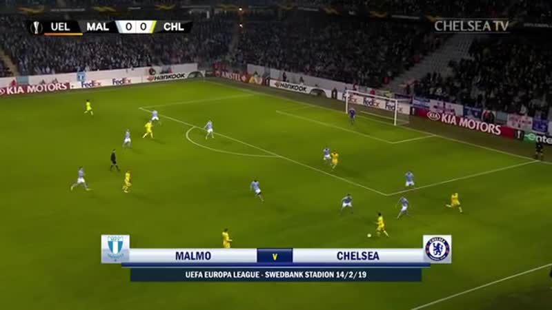 Malmo second leg tonight 💪 Here's a look back at last week's 2 1 win in Sweden