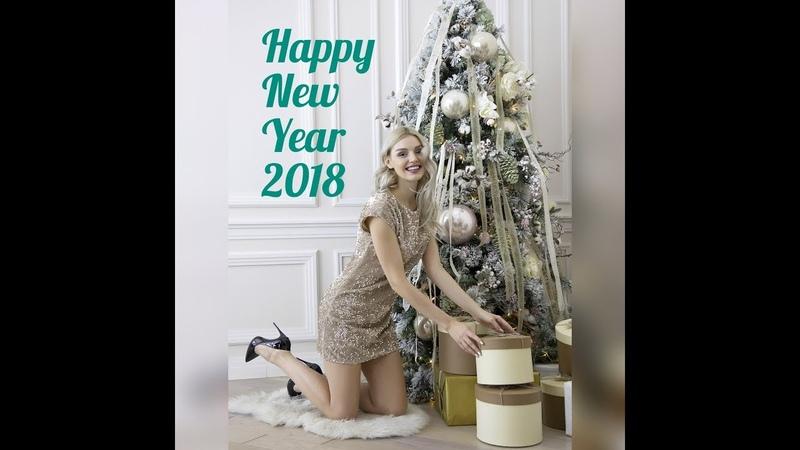 New Year 2018. VLOG. Гуляем с мамой по Москве в новогоднюю ночь. 2 макияжа