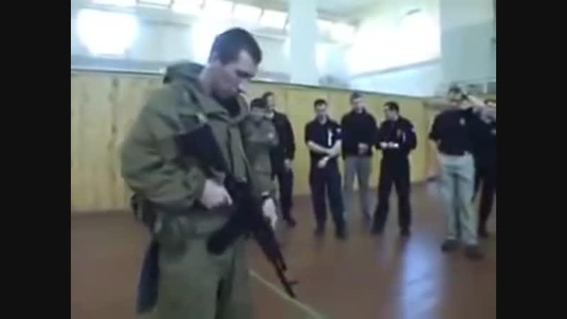 Инструктаж ВВ МВД Часть 2_⁄3 Огневой контакт