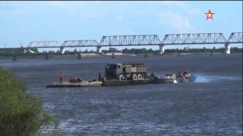 Военнослужащие ВВО восстановили железнодорожное сообщение по Транссибу