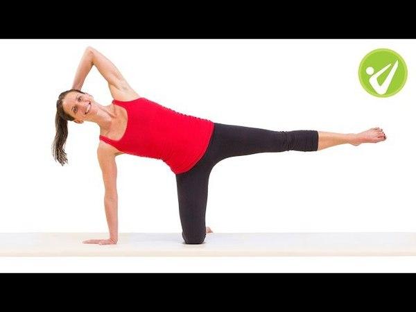 Side Kick Kneeling Pilates Exercise - Monica Wilson