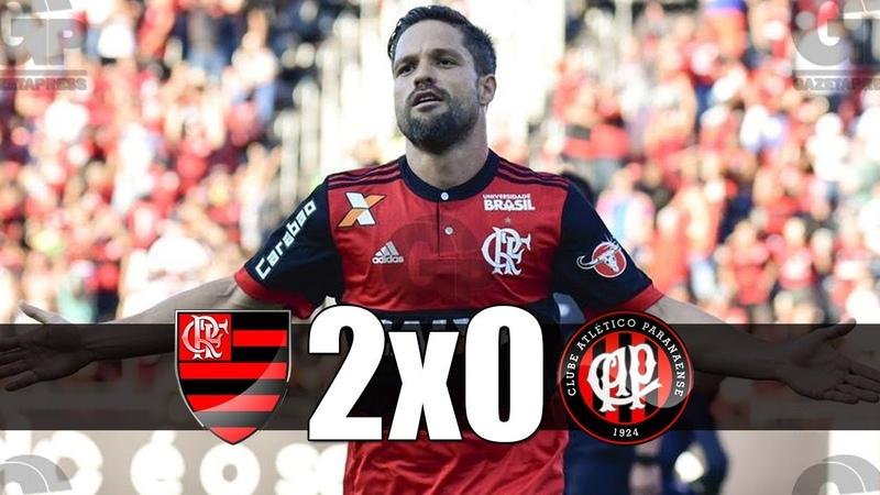 Flamengo 2 x 0 Atlético-PR (COMPLETO) Melhores Momentos - Brasileirão 2017