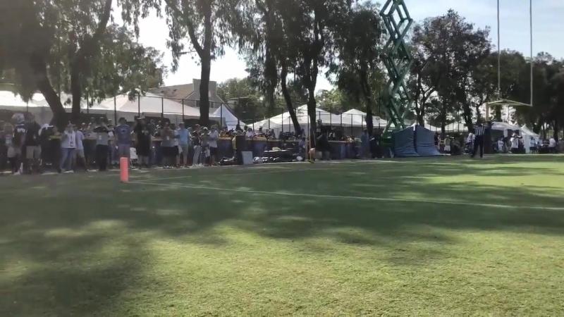 Byron vs Tavon Round 2 CowboysCamp Day 6