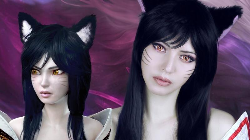 ☆ Ahri Cosplay Makeup Tutorial League of Legends ☆