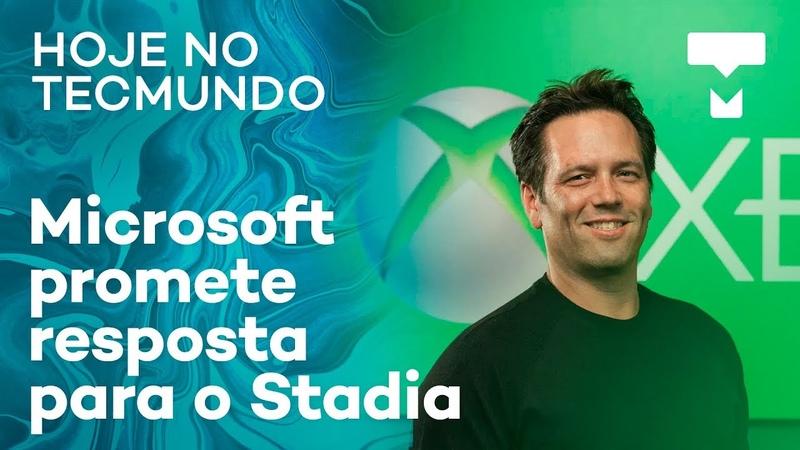 Brasil e EUA fecham acordo para Alcântara, Microsoft vai responder Stadia e mais - Hoje no TecMundo
