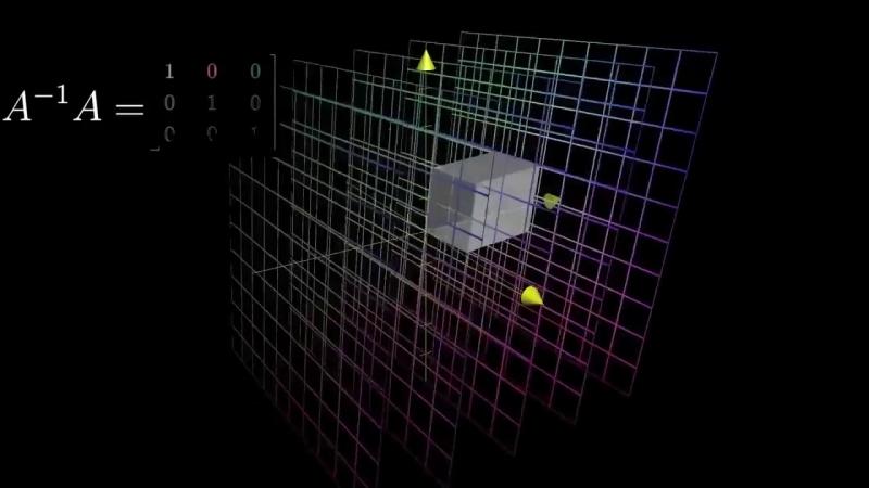 Обратные матрицы, пространство столбцов и нуль пространство - Сущность Линейной Алгебры, глава 6
