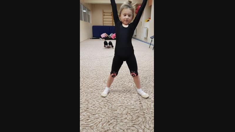 Гимнастка моя юнная