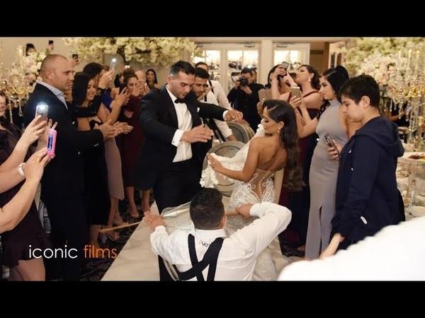 Assyrian Lebanese mixed wedding entry!