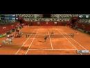 Ultimate Tennis. Araya у сетки.
