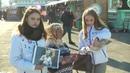 ОТС Портреты великих земляков пронесли по привокзальной площади в Новосибирске