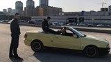 Покатались по Новосибирску на Audi Cabriolet и встретились с Gabrial Brothers