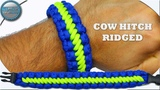 How to Make Paracord Bracelet Cow Hitch Ridged DIY Paracord Tutorial Simple Fast and Easy
