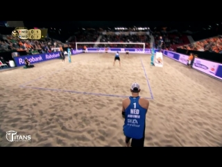 TOP  40 Surprise Attack. Spike Fake 2018 FIVB. Beach Volleyball World Tour