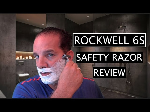 Rockwell 6S Safety Razor Shave and Review